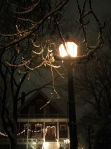 sound of snow falling