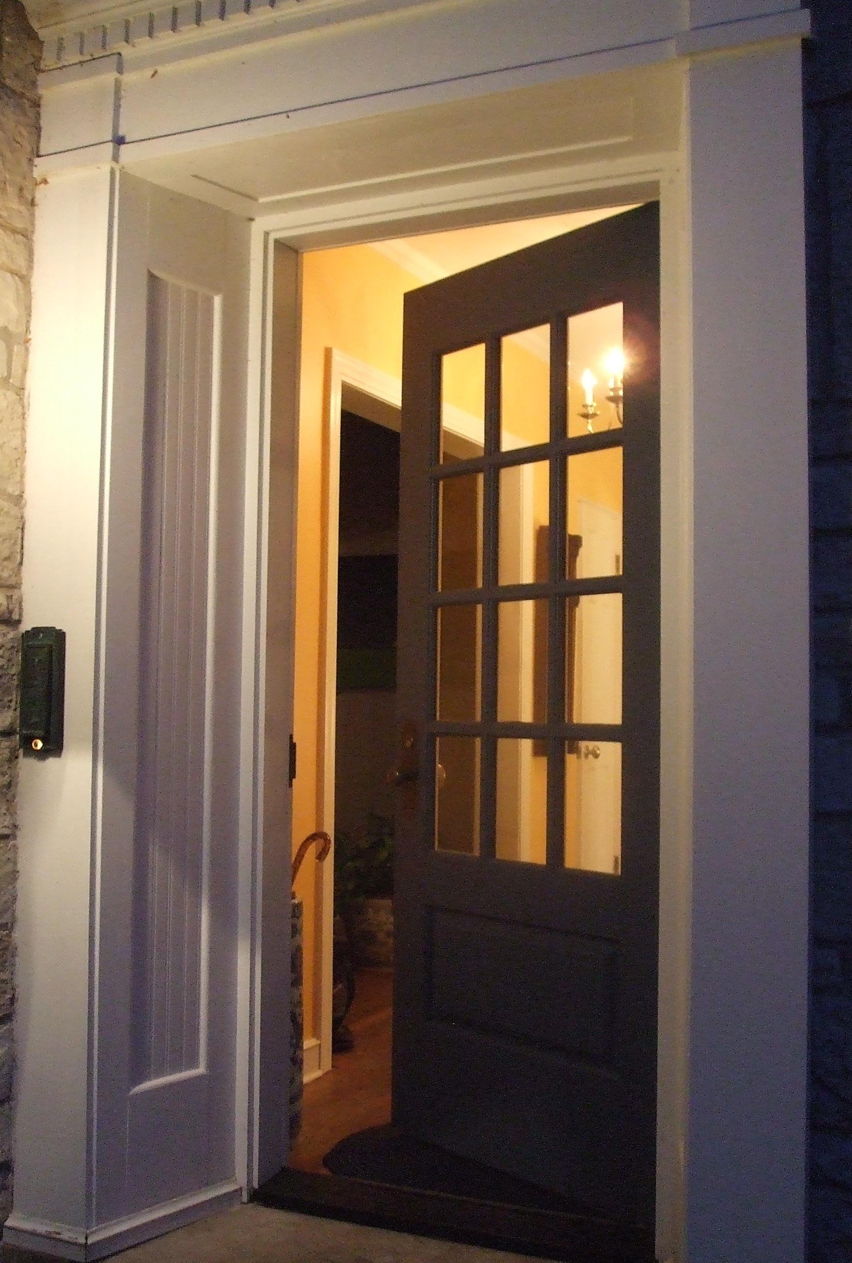 open front door. Always An Open Door Front