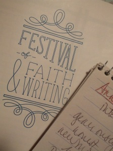 reporter notebook faith and writing