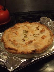 red bird pie after