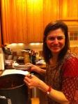 harlene at the chili pot