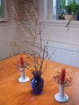 forsythia table