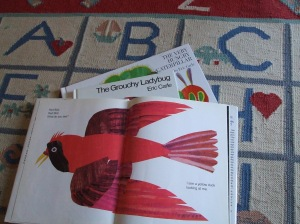 eric carle page turned