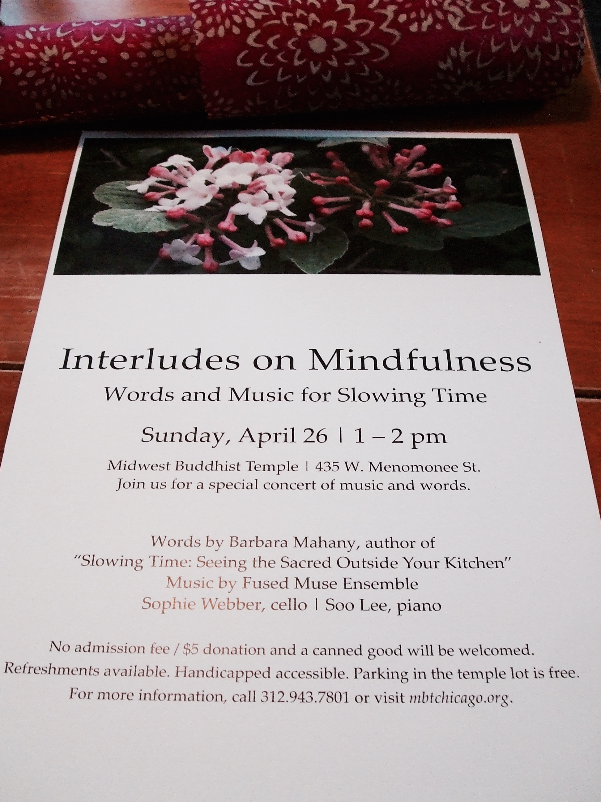 Interludes Mindful