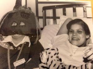 julie joyner + pumpkin head