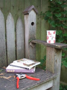 book bench august