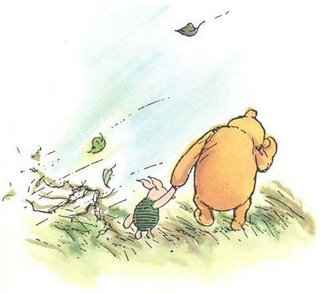 blustery day pooh