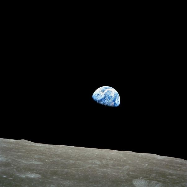 earth from moon, apollo 8 mission. 12.24.68