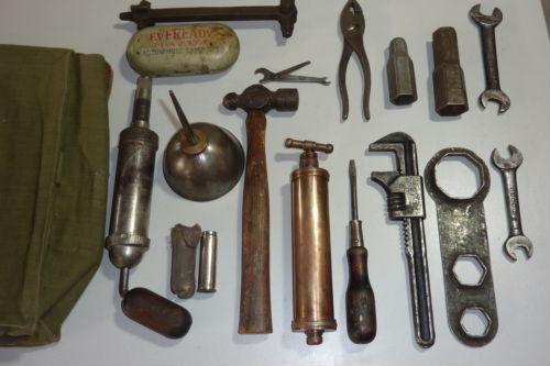 vintage tool kit
