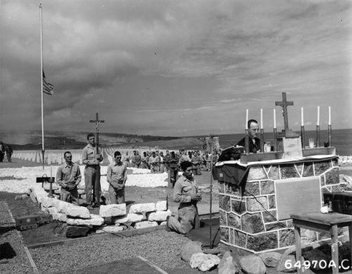 Iwo Jima funeral mass