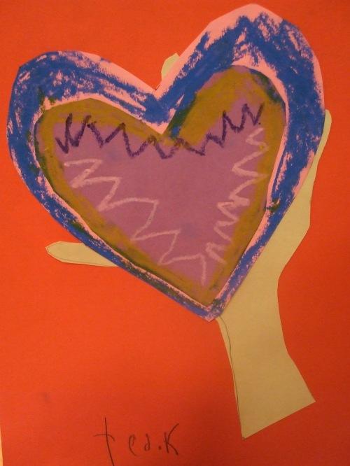 teddyhanddrawn heart